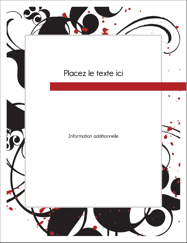 """5½"""" x 4¼"""" Carte Postale - Fioritures dramatiques"""