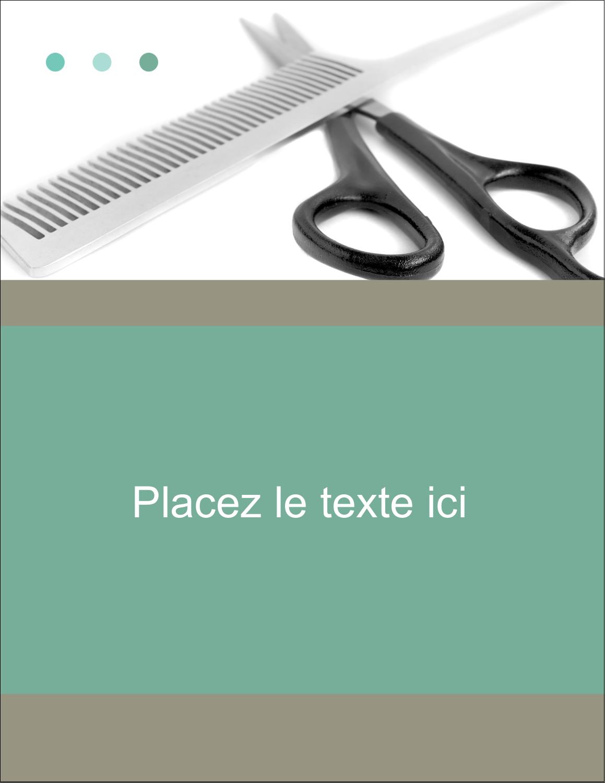 """4¼"""" X 5½"""" Carte Postale - Soins des cheveux"""