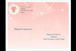 Renard protocolaire Carte Postale - gabarit prédéfini. <br/>Utilisez notre logiciel Avery Design & Print Online pour personnaliser facilement la conception.