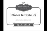 Logo simple Carte Postale - gabarit prédéfini. <br/>Utilisez notre logiciel Avery Design & Print Online pour personnaliser facilement la conception.