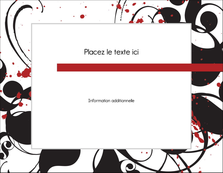 """4¼"""" X 5½"""" Carte Postale - Fioritures dramatiques"""