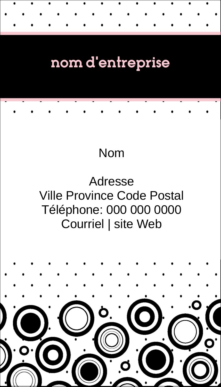 """2"""" x 3½"""" Carte d'affaire - Beauté à l'état pur"""