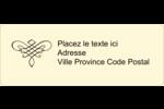 Diplôme d'études supérieures Étiquettes D'Adresse - gabarit prédéfini. <br/>Utilisez notre logiciel Avery Design & Print Online pour personnaliser facilement la conception.
