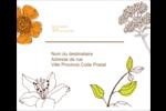 Illustrations florales Étiquettes d'expédition - gabarit prédéfini. <br/>Utilisez notre logiciel Avery Design & Print Online pour personnaliser facilement la conception.