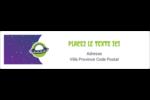 OVNI Étiquettes d'adresse - gabarit prédéfini. <br/>Utilisez notre logiciel Avery Design & Print Online pour personnaliser facilement la conception.