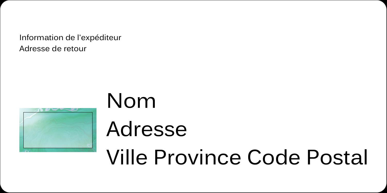 """2"""" x 4"""" Étiquettes d'expédition - Agate"""