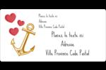 Ancre de Saint-Valentin  Étiquettes d'expédition - gabarit prédéfini. <br/>Utilisez notre logiciel Avery Design & Print Online pour personnaliser facilement la conception.