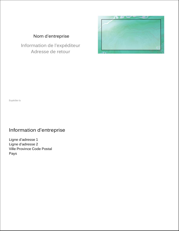 """11"""" x 8½"""" Étiquettes d'expéditions - Agate"""