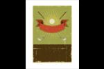 Golf d'époque Cartes Et Articles D'Artisanat Imprimables - gabarit prédéfini. <br/>Utilisez notre logiciel Avery Design & Print Online pour personnaliser facilement la conception.