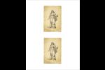 Art ancien Cartes Et Articles D'Artisanat Imprimables - gabarit prédéfini. <br/>Utilisez notre logiciel Avery Design & Print Online pour personnaliser facilement la conception.