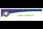 OVNI Affichette - gabarit prédéfini. <br/>Utilisez notre logiciel Avery Design & Print Online pour personnaliser facilement la conception.