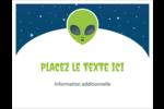 Fête d'extraterrestres Cartes de notes - gabarit prédéfini. <br/>Utilisez notre logiciel Avery Design & Print Online pour personnaliser facilement la conception.