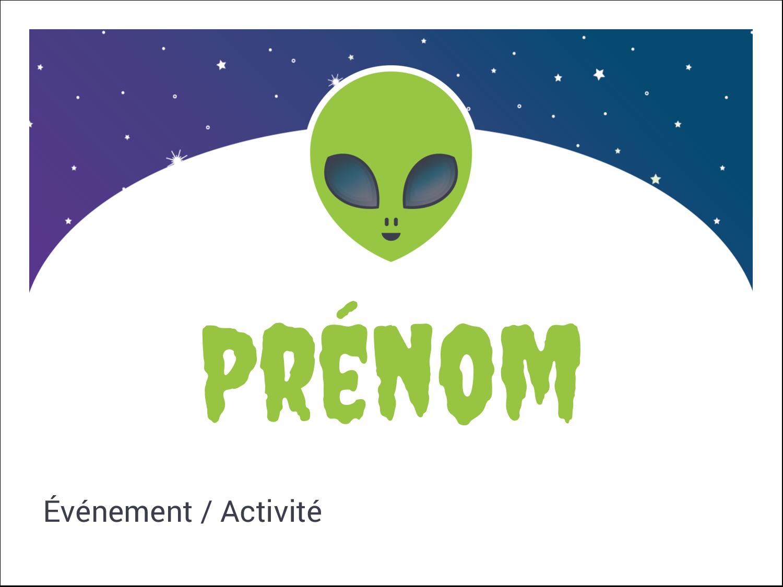 "3"" x 4"" Badges - Fête d'extraterrestres"