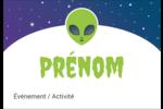 Fête d'extraterrestres Étiquettes à codage couleur - gabarit prédéfini. <br/>Utilisez notre logiciel Avery Design & Print Online pour personnaliser facilement la conception.