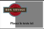 Voyage d'antan Étiquettes d'expédition - gabarit prédéfini. <br/>Utilisez notre logiciel Avery Design & Print Online pour personnaliser facilement la conception.