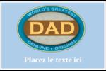 Le meilleur papa Étiquettes d'expédition - gabarit prédéfini. <br/>Utilisez notre logiciel Avery Design & Print Online pour personnaliser facilement la conception.