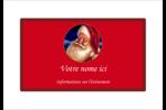 Père Noël rétro Étiquettes badges autocollants - gabarit prédéfini. <br/>Utilisez notre logiciel Avery Design & Print Online pour personnaliser facilement la conception.