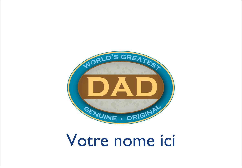 Badges - Le meilleur papa
