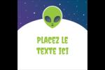 Fête d'extraterrestres Étiquettes enveloppantes - gabarit prédéfini. <br/>Utilisez notre logiciel Avery Design & Print Online pour personnaliser facilement la conception.
