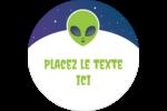 Fête d'extraterrestres Étiquettes de classement - gabarit prédéfini. <br/>Utilisez notre logiciel Avery Design & Print Online pour personnaliser facilement la conception.