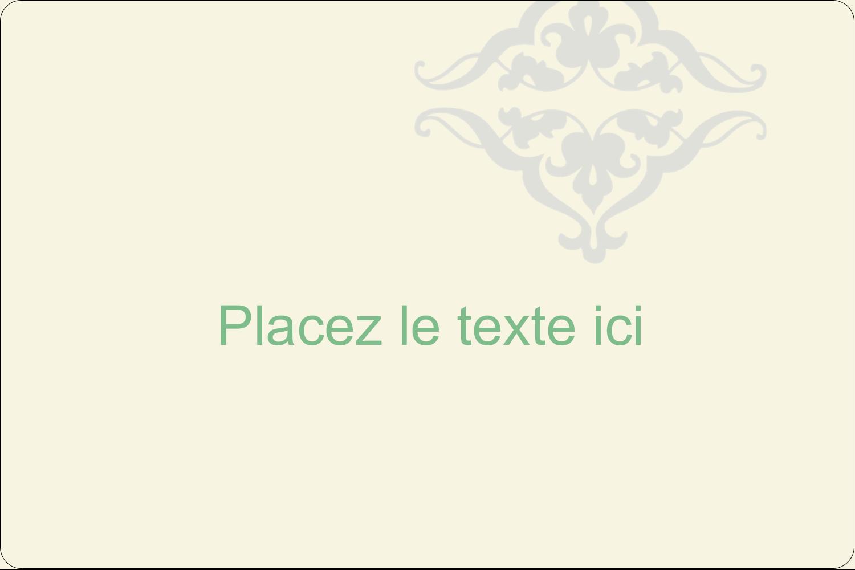 """3"""" x 3¾"""" Étiquettes rectangulaires - Manuscrit de mariage"""