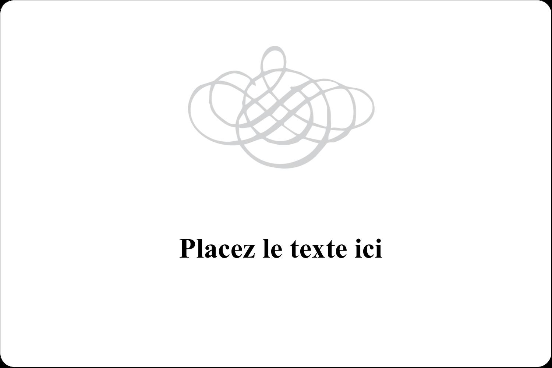 Monogramme de mariage Étiquettes rectangulaires - gabarit prédéfini. <br/>Utilisez notre logiciel Avery Design & Print Online pour personnaliser facilement la conception.