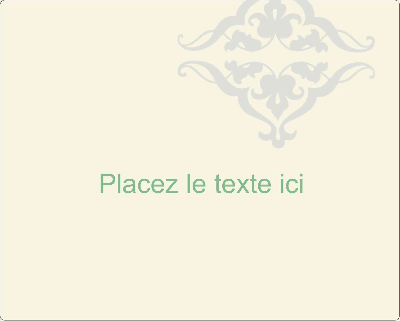 """2"""" Diameter Étiquettes rondes gaufrées - Manuscrit de mariage"""