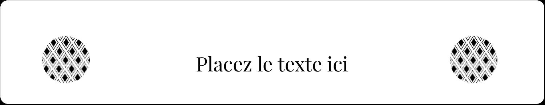 """3½"""" x ⅝"""" Étiquettes de classement - Damas décoratif"""
