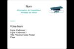 Remise des diplômes en bleu Étiquettes d'expédition - gabarit prédéfini. <br/>Utilisez notre logiciel Avery Design & Print Online pour personnaliser facilement la conception.