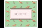 Entretien renard-lièvre  Étiquettes de classement - gabarit prédéfini. <br/>Utilisez notre logiciel Avery Design & Print Online pour personnaliser facilement la conception.