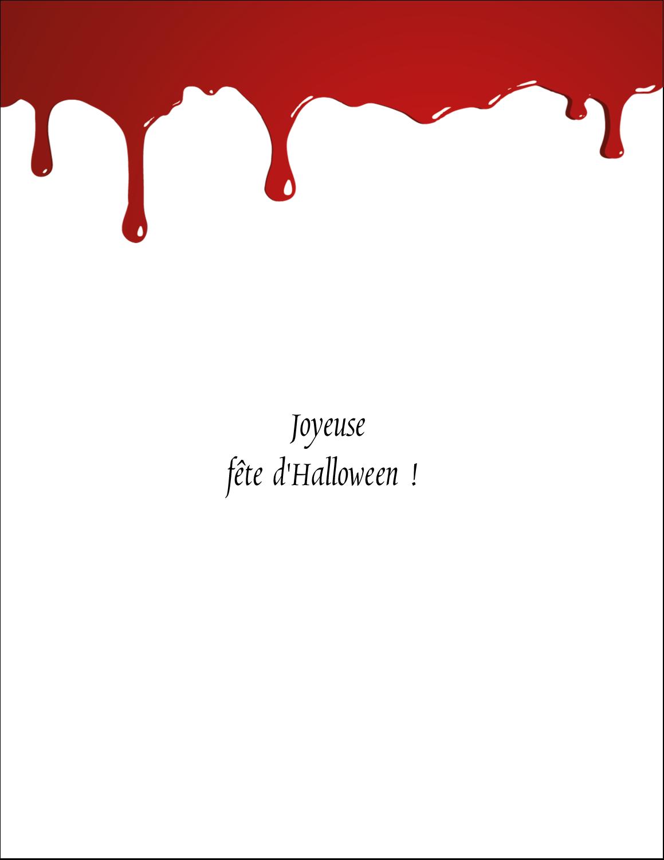 Halloween sanglante Cartes Et Articles D'Artisanat Imprimables - gabarit prédéfini. <br/>Utilisez notre logiciel Avery Design & Print Online pour personnaliser facilement la conception.