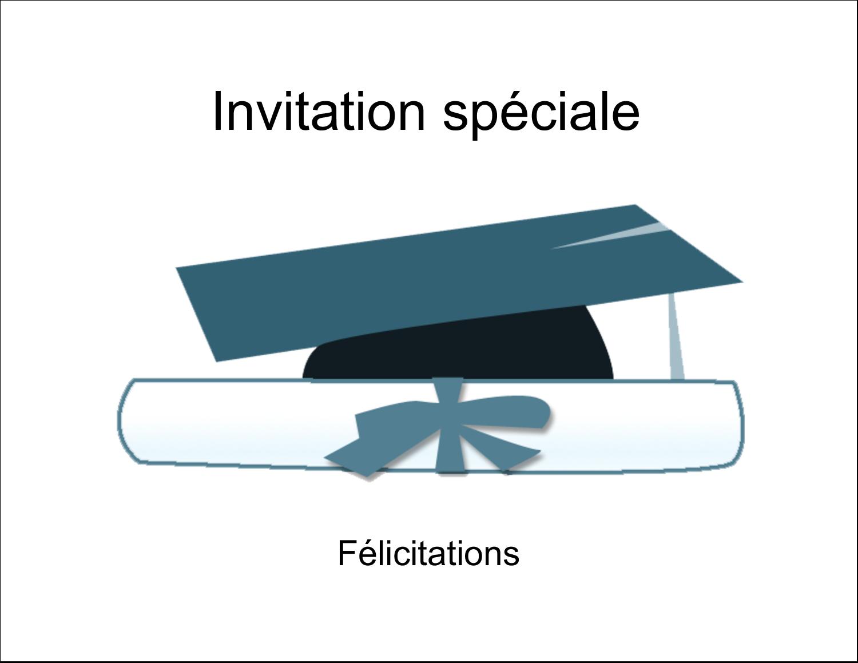 """4¼"""" x 5½"""" Cartes de notes - Remise des diplômes en bleu"""