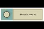 Explosion fauve Carte de note - gabarit prédéfini. <br/>Utilisez notre logiciel Avery Design & Print Online pour personnaliser facilement la conception.