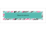 Empreintes d'animaux Cartes de notes - gabarit prédéfini. <br/>Utilisez notre logiciel Avery Design & Print Online pour personnaliser facilement la conception.