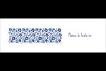 Petit bouquet bleu Cartes de notes - gabarit prédéfini. <br/>Utilisez notre logiciel Avery Design & Print Online pour personnaliser facilement la conception.