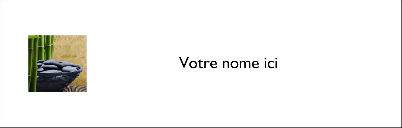 """3½"""" x 11"""" Affichette - Bien-être"""