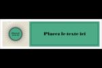 Explosion de vert Affichette - gabarit prédéfini. <br/>Utilisez notre logiciel Avery Design & Print Online pour personnaliser facilement la conception.