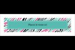 Empreintes d'animaux Affichette - gabarit prédéfini. <br/>Utilisez notre logiciel Avery Design & Print Online pour personnaliser facilement la conception.