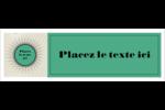 Explosion de vert Carte de note - gabarit prédéfini. <br/>Utilisez notre logiciel Avery Design & Print Online pour personnaliser facilement la conception.