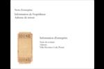 Billet Étiquettes d'expédition - gabarit prédéfini. <br/>Utilisez notre logiciel Avery Design & Print Online pour personnaliser facilement la conception.