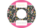 Fleurs modernes Étiquettes de classement - gabarit prédéfini. <br/>Utilisez notre logiciel Avery Design & Print Online pour personnaliser facilement la conception.