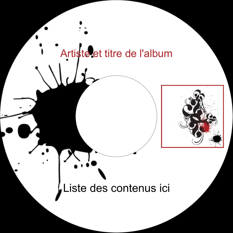 """⅔"""" x 3-7/16"""" Étiquettes de classement - Fioritures dramatiques"""