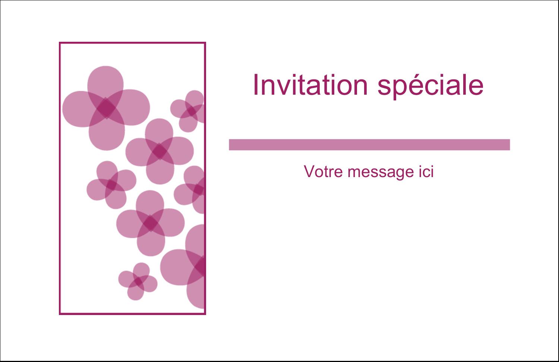 """8½"""" x 11"""" Cartes Et Articles D'Artisanat Imprimables - Fleurs violettes"""