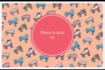 Patins à roulettes Cartes Et Articles D'Artisanat Imprimables - gabarit prédéfini. <br/>Utilisez notre logiciel Avery Design & Print Online pour personnaliser facilement la conception.