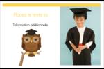 Hibou et diplôme Cartes Et Articles D'Artisanat Imprimables - gabarit prédéfini. <br/>Utilisez notre logiciel Avery Design & Print Online pour personnaliser facilement la conception.