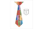 Dad will finally love that tacky Father's Day Tie with this personalized design!!