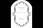 Le mariage fantaisiste de Martha Stewart Étiquettes rectangulaires - gabarit prédéfini. <br/>Utilisez notre logiciel Avery Design & Print Online pour personnaliser facilement la conception.