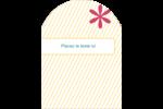 Lignes jaunes Étiquettes rectangulaires - gabarit prédéfini. <br/>Utilisez notre logiciel Avery Design & Print Online pour personnaliser facilement la conception.