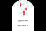 Noël élégant Étiquettes rectangulaires - gabarit prédéfini. <br/>Utilisez notre logiciel Avery Design & Print Online pour personnaliser facilement la conception.