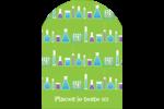 Célébration de savant fou Étiquettes rectangulaires - gabarit prédéfini. <br/>Utilisez notre logiciel Avery Design & Print Online pour personnaliser facilement la conception.